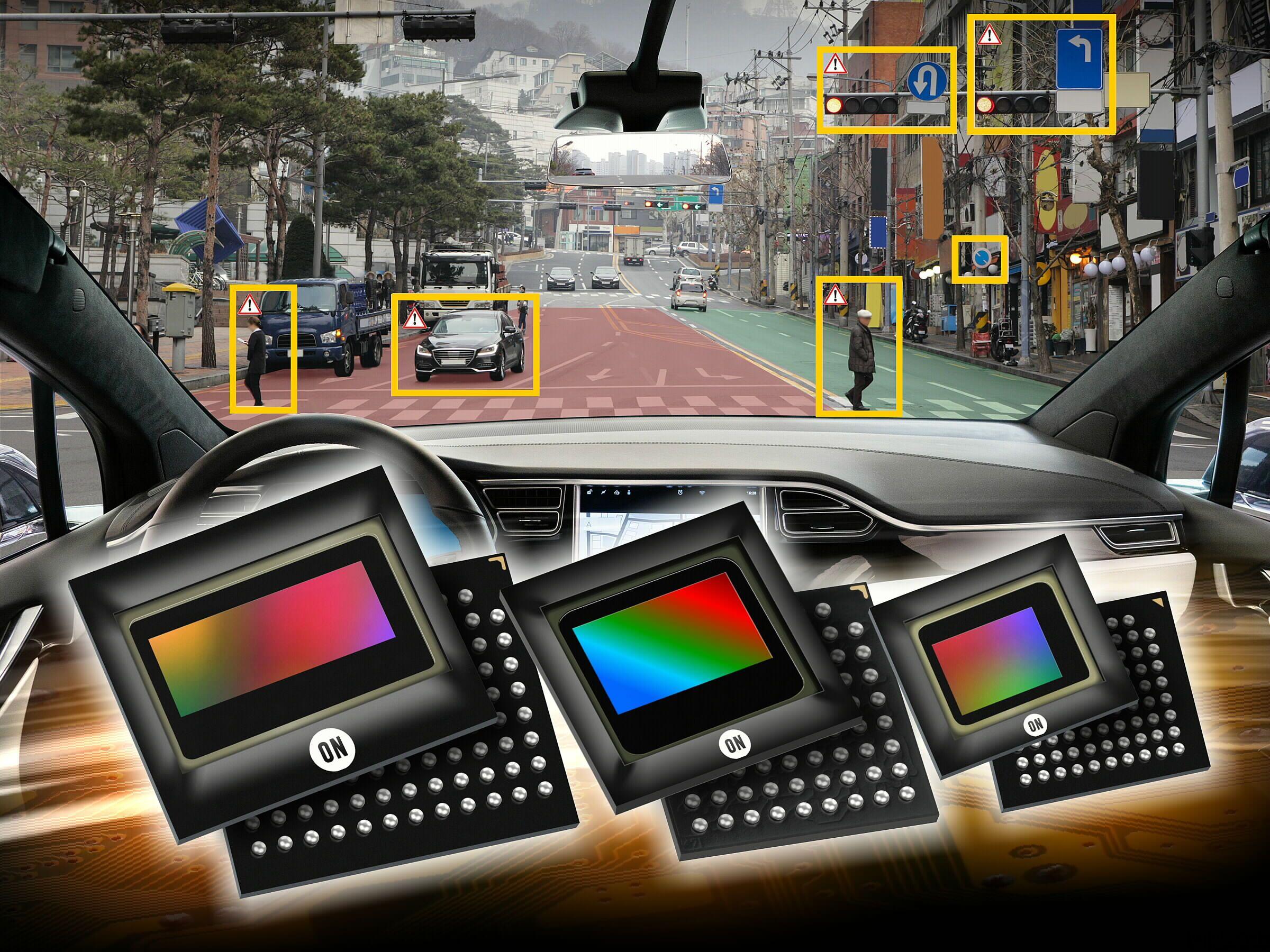 安森美半导体在 AutoSens 2019 展示汽车 CMOS 图像传感器、激光雷达和雷达方案