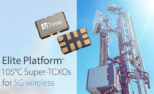 SiTime 面向全球無線網絡交付用于 5G 無線電同步的時鐘產品