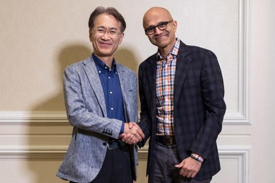 索尼和微软握手言和 共同打造云游戏和娱乐
