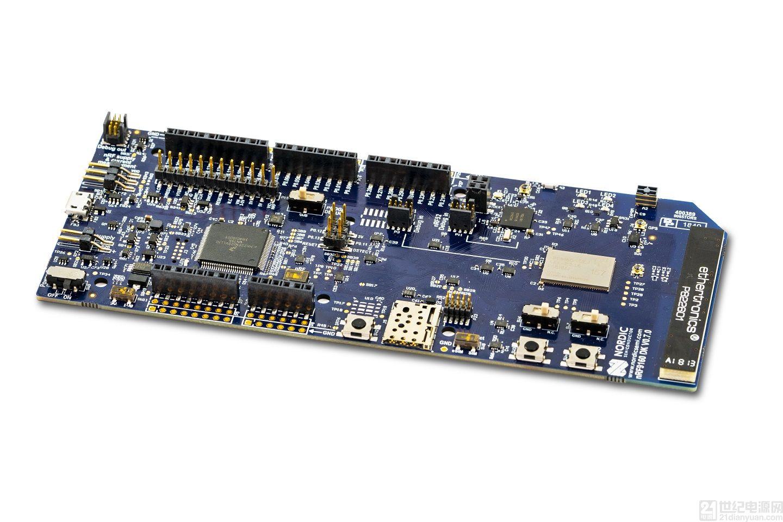 儒卓力提供 Nordic 的高成本效益 nRF9160 开发套件