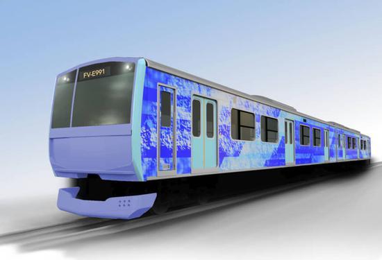 日本将开发氢能驱动混合列车 最高时速 100 公里