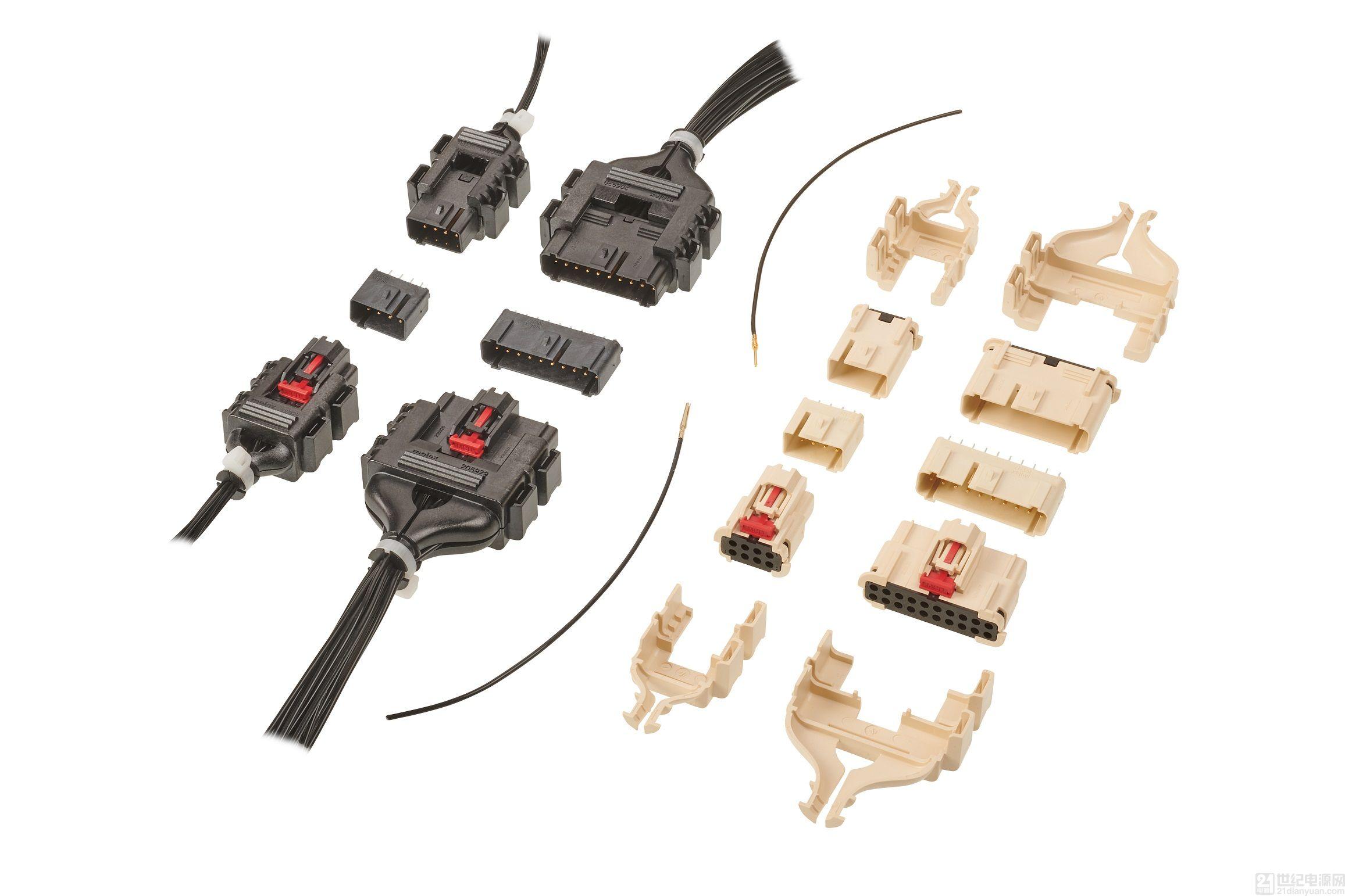 Molex MultiCat 电源连接器新增 8 电路和 20 电路的中功率版本
