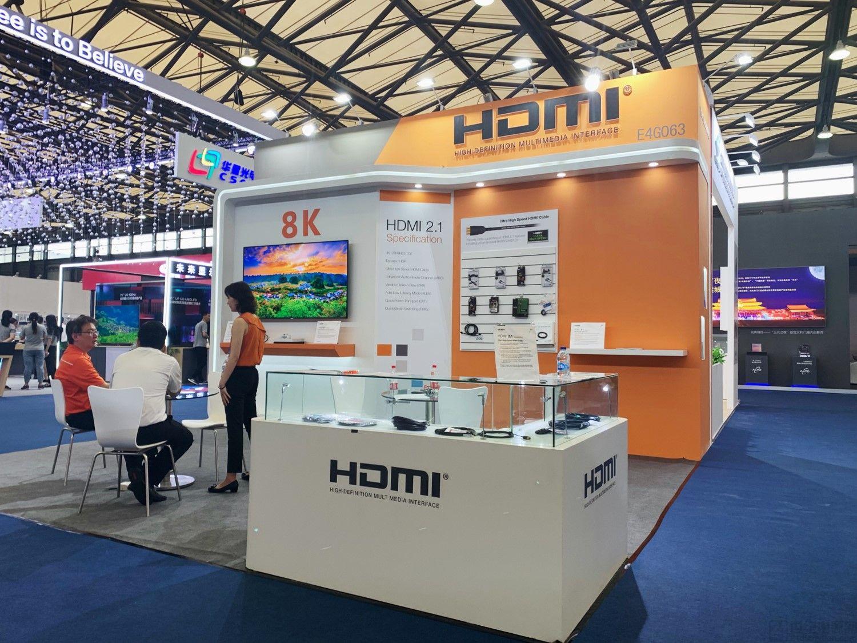 采用 HDMI 2.1 规范的 8K 电视亮相 2019 国际显示博览会