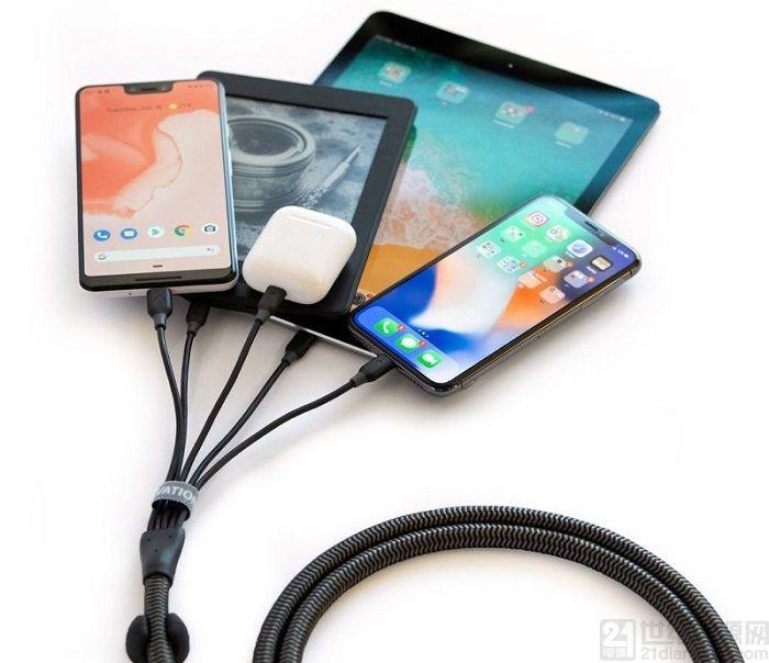 Elevation Lab 推出一拖五充电套装:输出功率 65W 售 74.95美元