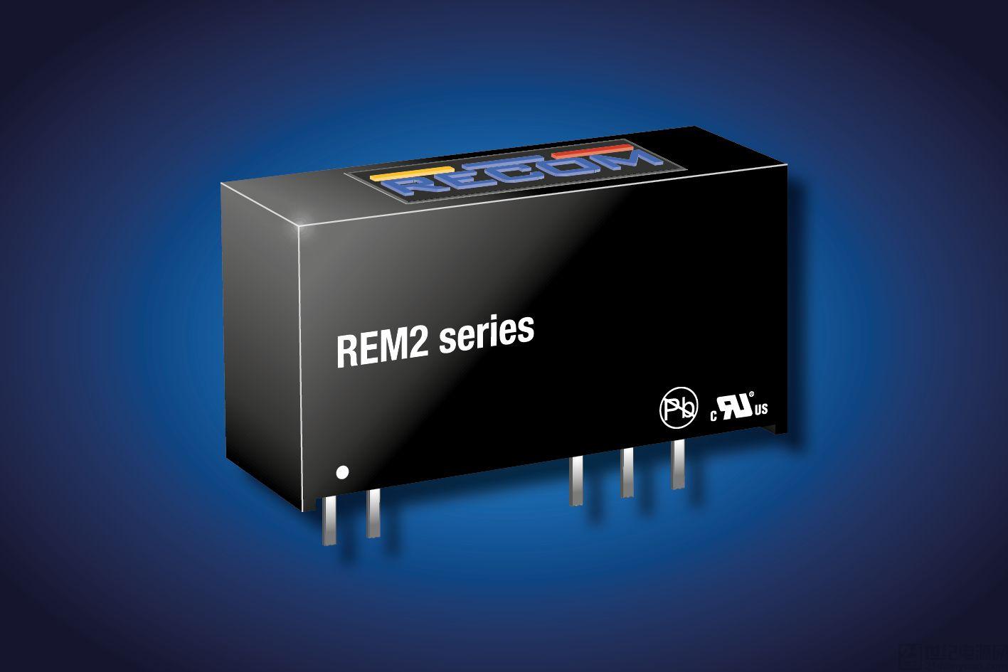 儒卓力提供用于醫療應用的 Recom 2W DC/DC 轉換器