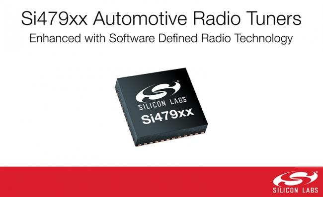 Silicon Labs 首款支持 DRM 標準的汽車收音機調諧器  提供出色的路試性能