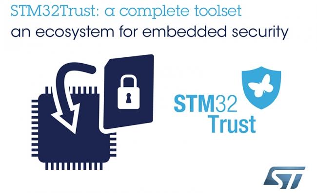 意法半導體構建 STM32Trust 生態系統,為物聯網設計人員整合網絡保護資源
