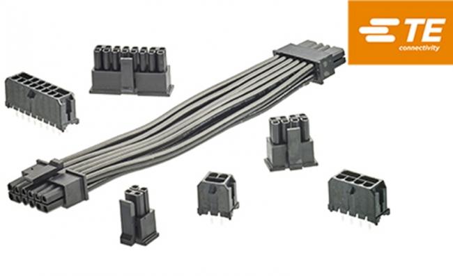 TE Connectivity 宣布推出 ELCON Micro 線到板電源電纜插頭和電纜組件