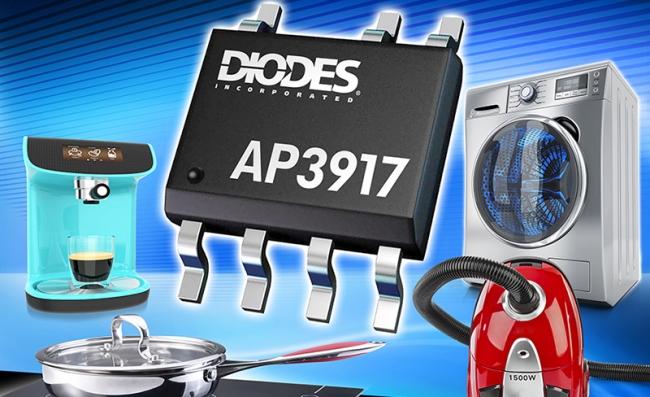 Diodes 公司非隔离式降压切换器提供高电压 AC-DC 转换,具备低待机电流,适合常开设备应用