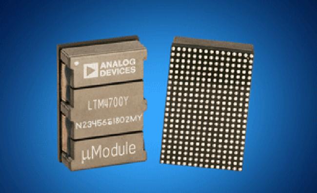 贸泽推出 Analog Devices Power by Linear LTM4700 µModul