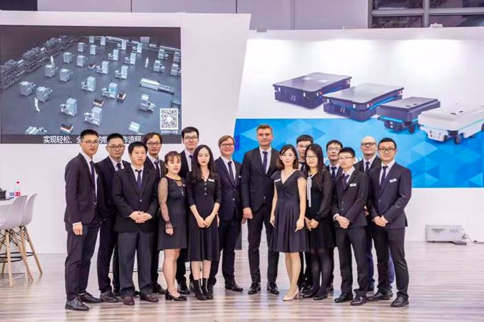 MiR 自主移动机器人携以安全性著称的机器人产品矩阵亮相 2019 中国国际工业博览会