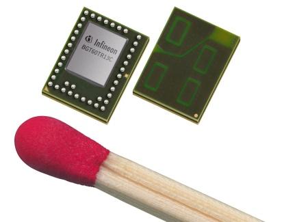 英飞凌雷达技术助力谷歌 Pixel4 智能手机实现手势控制
