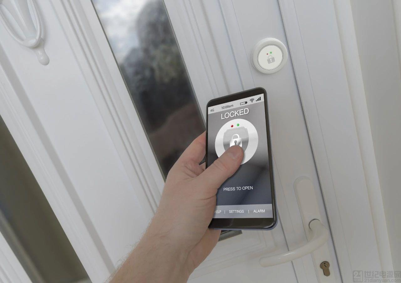 安全又低功耗的智能锁优选无线、MCU 器件