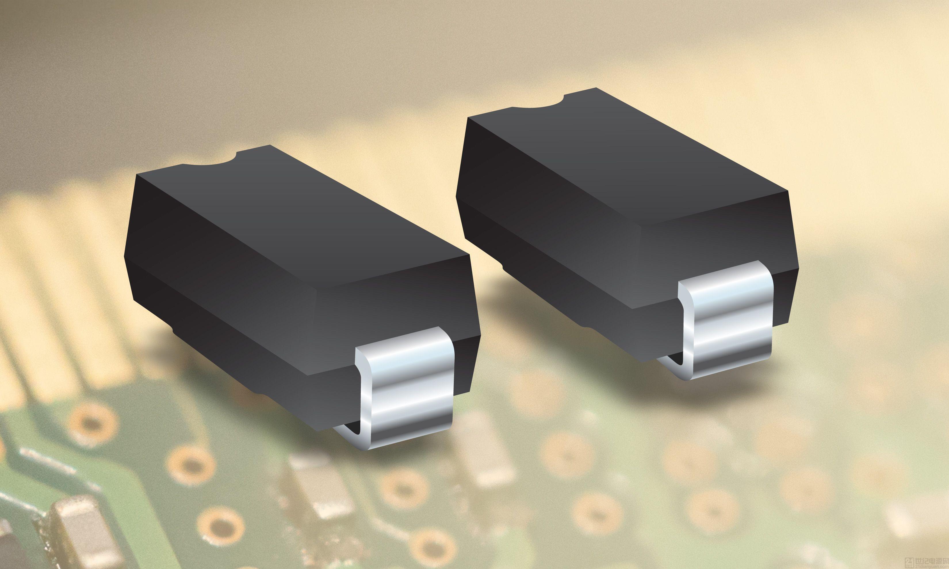 Bourns 进一步拓展其离散式电压瞬变抑制二极管产品线