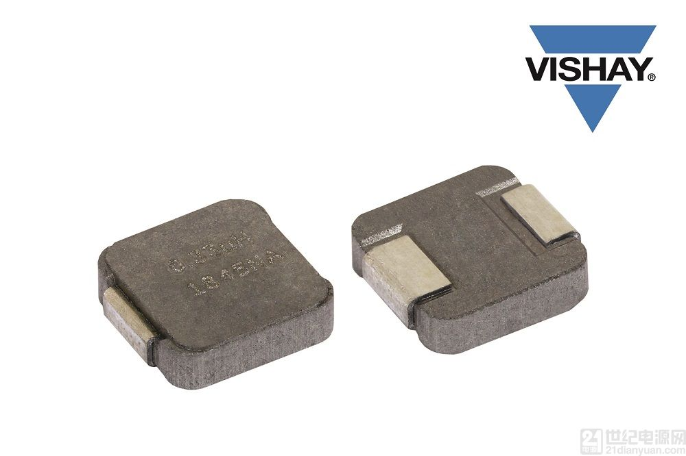 Vishay 推出的新款小型商用電感器工作溫度可達 +155 °C