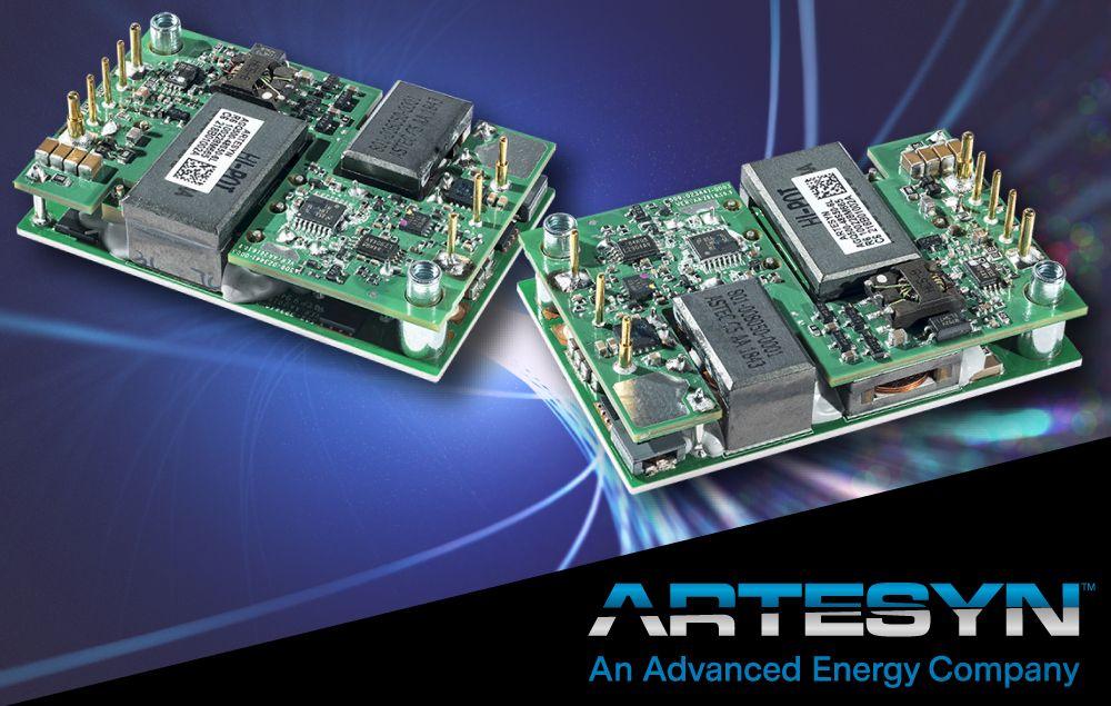 雅特生科技的 500W 1/4 砖直流/直流电源转换器模块可支持 GaN 功率放大器
