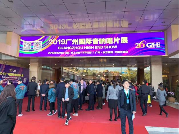 优派携全系列家用投影亮相 2019 广州国际音响唱片展