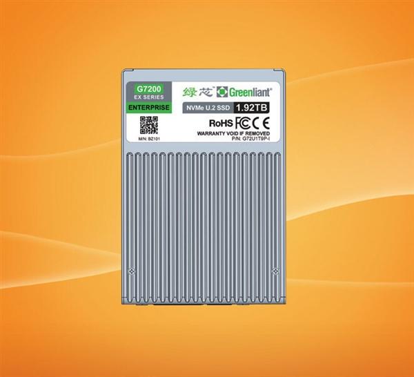 綠芯發布 U.2 超耐久工業級 SLC SSD:5 年每天 30 次全盤擦寫