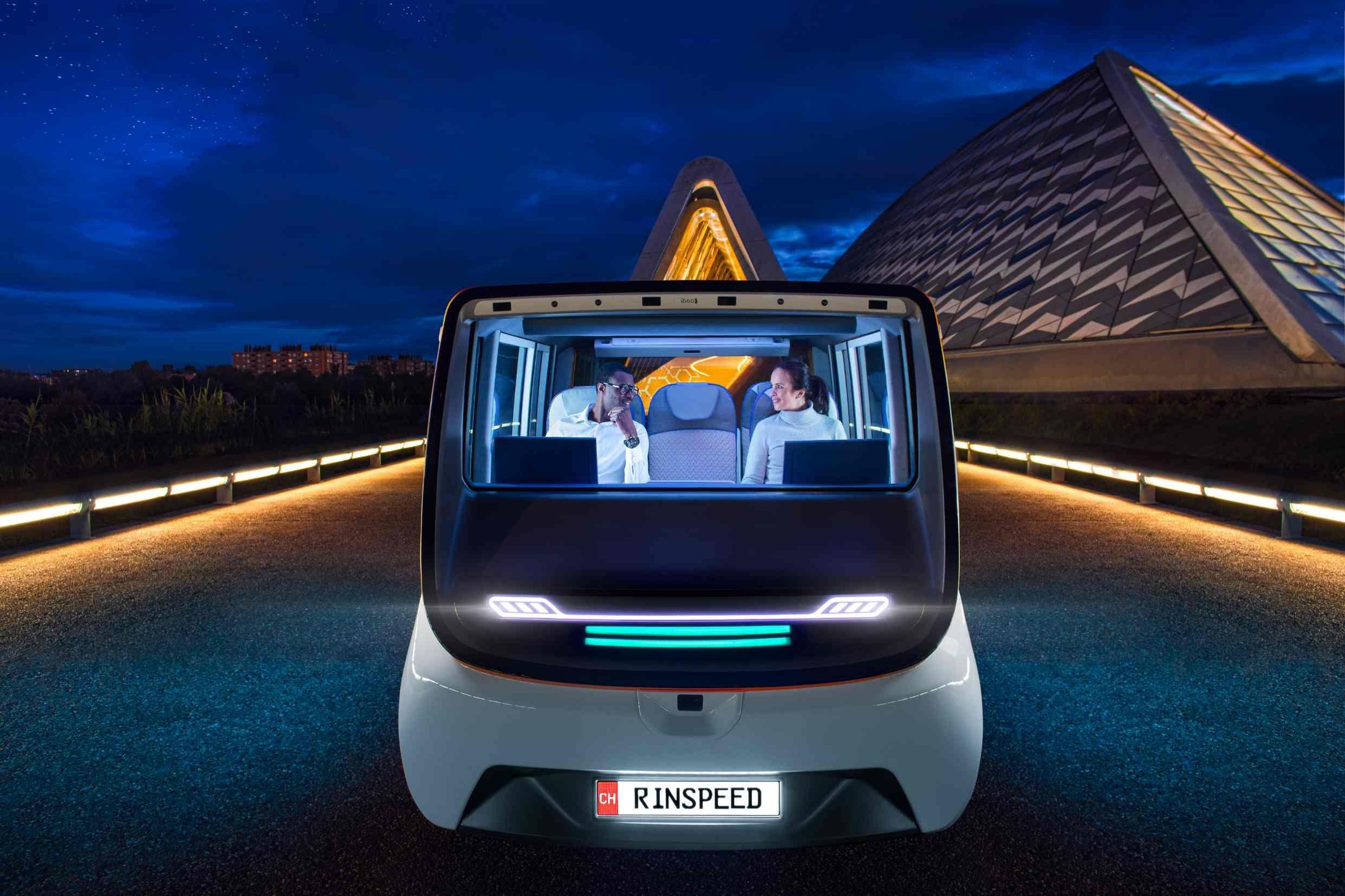 CES 2020:欧司朗携手林斯比得,以 MetroSnap 概念车展示未来出行技术