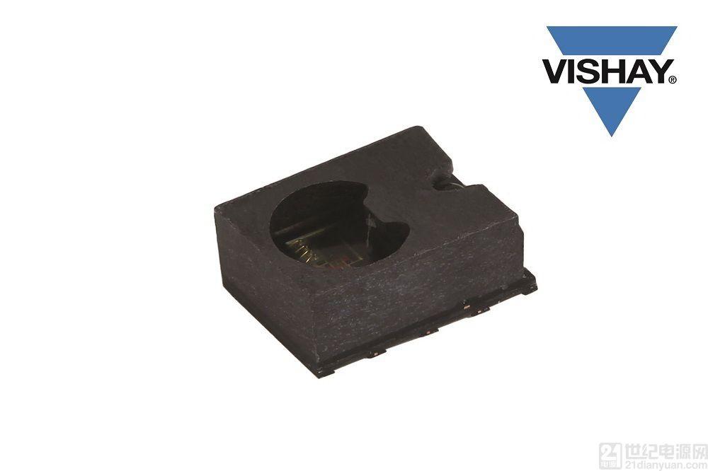 Vishay 推出超小体积的功耗仅为 6µA 的新型接近传感器