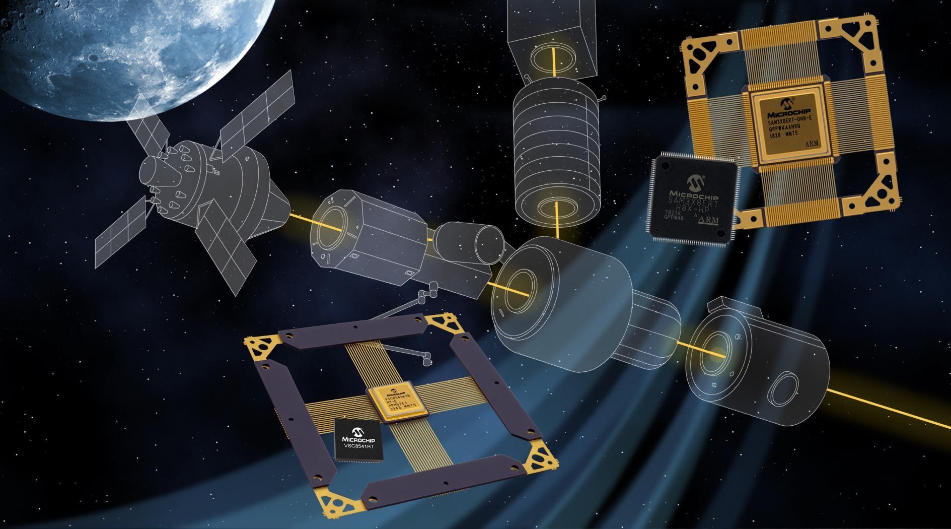 Microchip 發布業界首款宇航級基于 COTS 的耐輻射以太網收發器和嵌入式單片機
