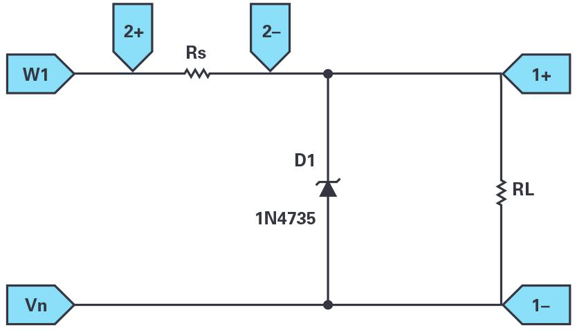 ADALM2000:齊納二極管穩壓器