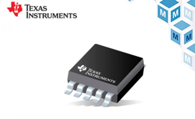 贸泽开售具有内部电压基准的TI低功耗 DACx0501 DAC