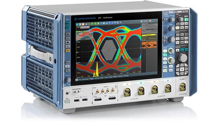 罗德与施瓦茨 RTP 16 GHz 示波器与 Marvell 88Q6113 多端口多吉比特车载交换机实现宽带测试