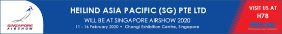 赫联电子携全新电子元器件亮相 2020 新加坡航空展