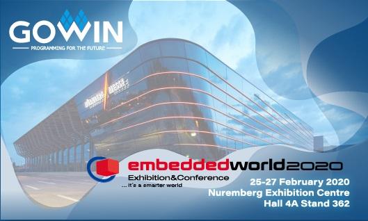 高云半导体参加德国 Embedded World 2020 展会并受邀进行两场主题演讲