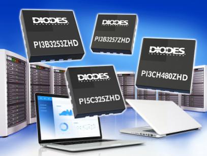 Diodes 公司推出业界最小的超薄总线切换器有助节省电路板空间