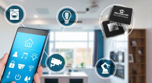 Microchip 推出新型 PIC® MCU 系列产品,将软件任务移交硬件,加快系统响应速度