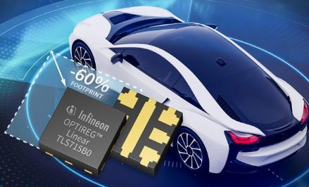 英飞凌推出线性稳压器 OPTIREG™ TLS715B0NAV50,采用倒装芯片封装生产工艺,导热性