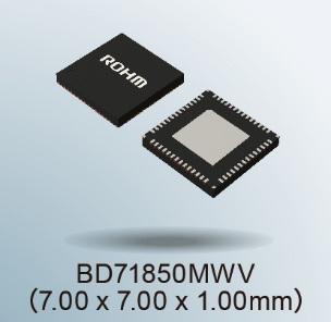 """ROHM 開發出非常適用于恩智浦""""i.MX 8M Nano系列""""處理器的電源管 IC""""BD71850"""