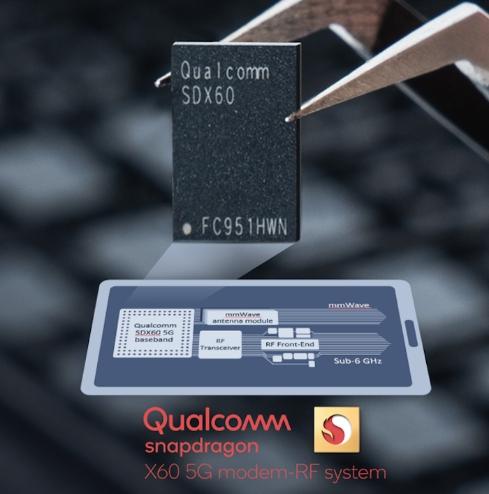高通发布第三代 5G 基带骁龙 X60,采用 5nm 制程,2021年初上市