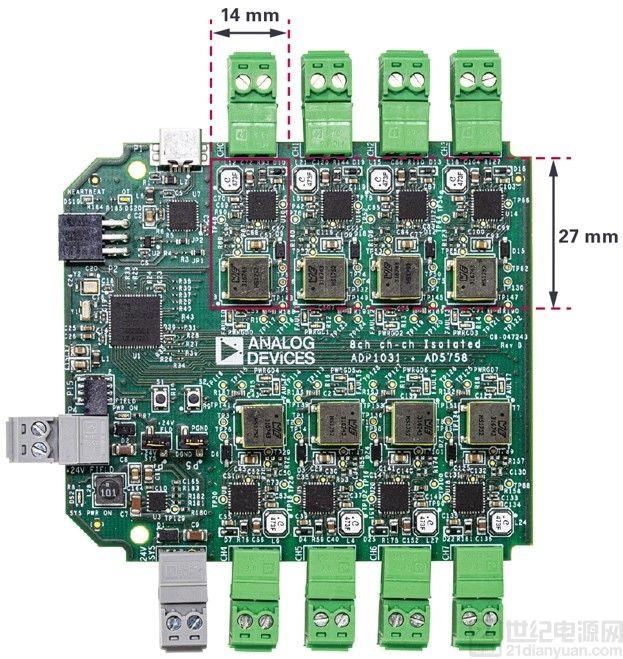 能够设计出适合过程控制的高精度、高密度和隔离模拟输出模块的系统级方法