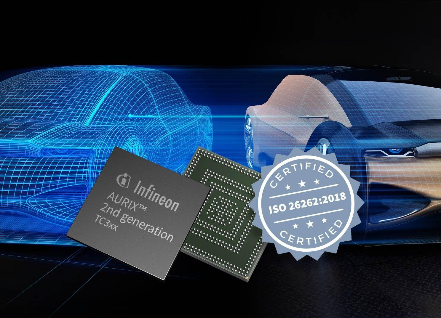汽车安全:英飞凌 AURIX™ 是世界首款通过 ISO 26262:2018 标准 ASIL-D 认