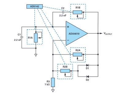 如何使用数字电位器构建可编程振荡器