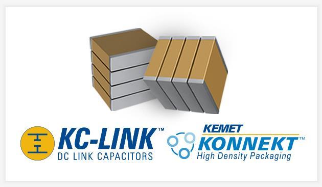 KEMET 利用 KONNEKT™ 高密度封装技术扩展 KC-LINK™ 系列