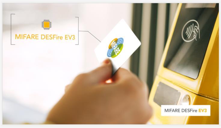 恩智浦推出 MIFARE DESFire EV3 IC,引领非接触式智慧城市服务的安全和连接新时代