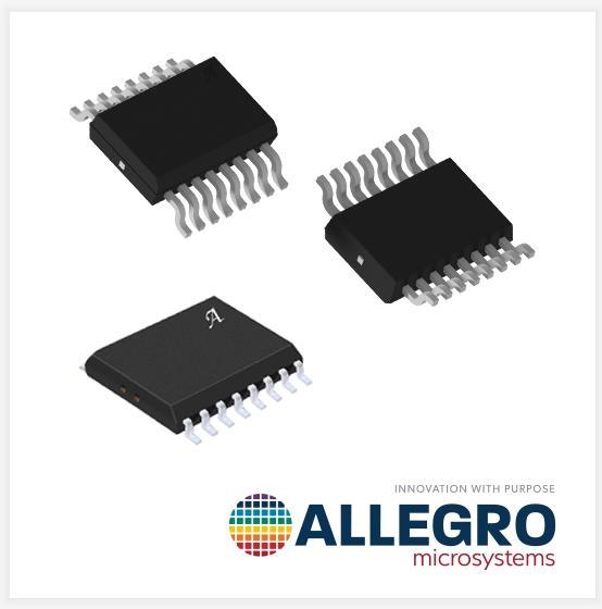 Allegro 推出额定隔离电压为 5kV、具备更高精度的 400kHz 电流传感器