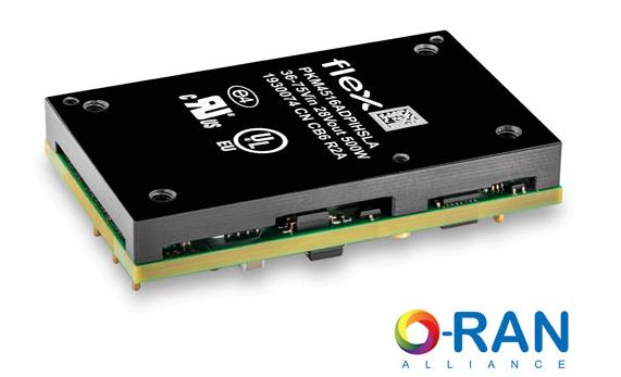 Flex 电源模块借助 O-RAN 和 OpenRAN 扩大 RFPA 市场影响力