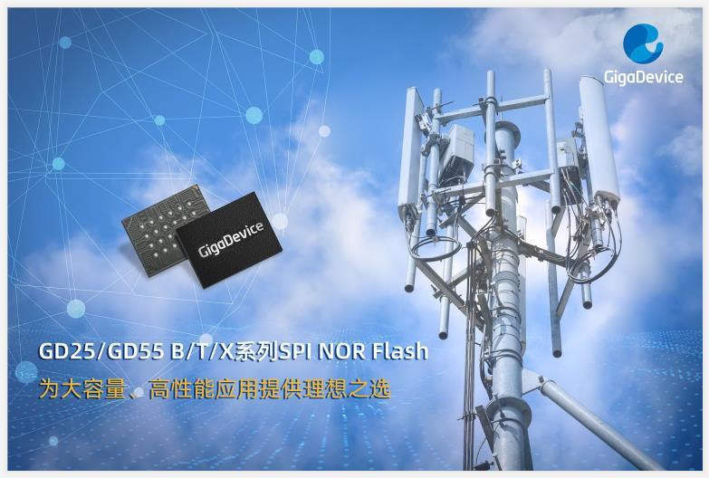 兆易创新推出国内首款 2Gb 大容量高性能 SPI NOR Flash 产品