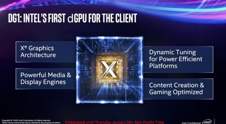 Intel 将于9月2日发布 11 代酷睿 Tiger Lake 处理器