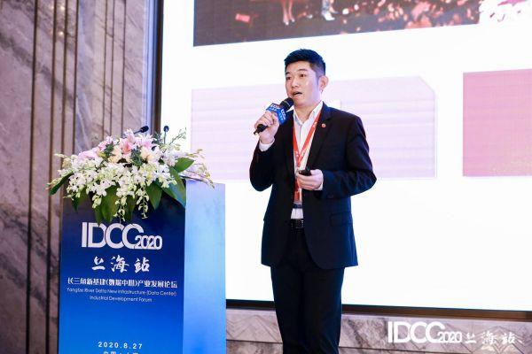 万国数据华东区总经理张克兢-1