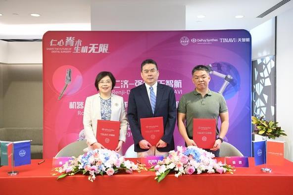 强生医疗数字化手术新突破 机器人辅助脊柱手术惠及中国病患