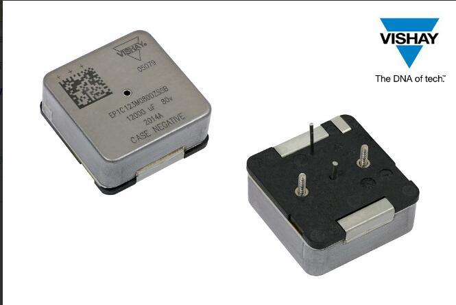 Vishay推出B和C外壳代码新产品扩充EP1高能量密度湿钽电容器