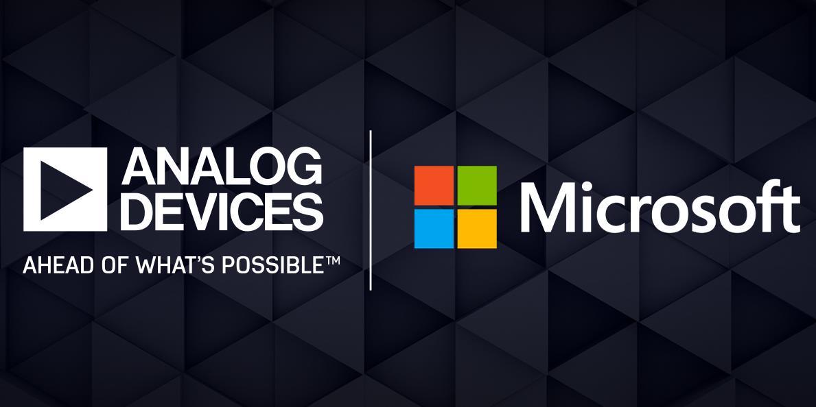 ADI 与 Microsoft 合作以批量生产先进的 3D 成像产品和解决方案