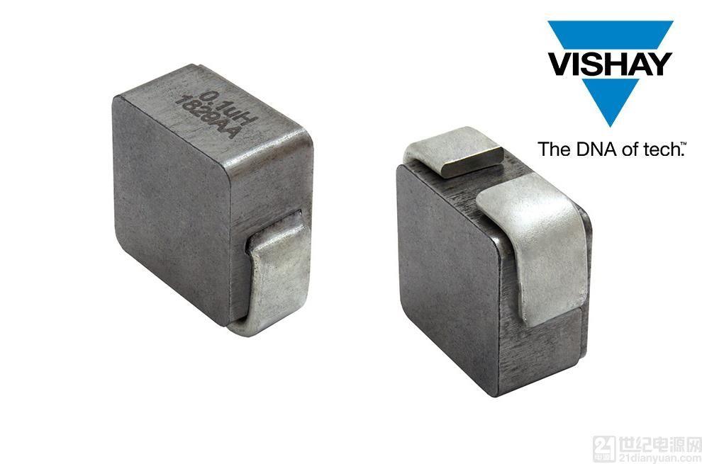 Vishay 推出新款高饱和电流电感,提高系统饱和及温度稳定性