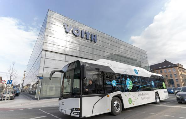 福伊特与 Orten 携手为商用车领域提供纯电动化解决方案